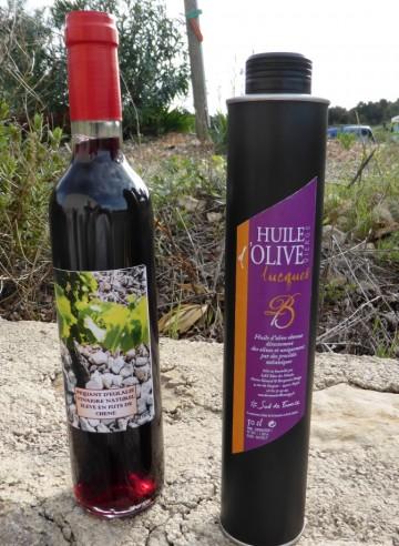 VINAIGRE+HUILE LUCQUES